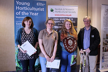 WUC student wins Regional Final of Young Horticulturist of the Year 2017!