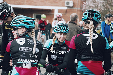 New cycling academy launched at Writtle University College with Team OnForm