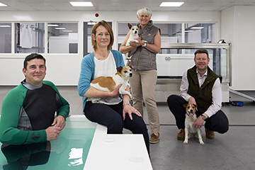 Launch of new Canine Therapy Centre