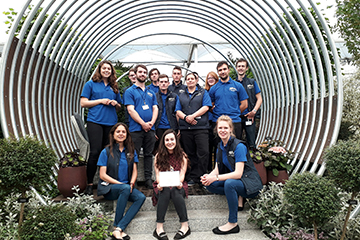 Students take over the Grand Pavilion at RHS Chelsea Flower Show