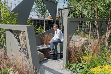 Alumnus wins Gold Medal at RHS Chelsea