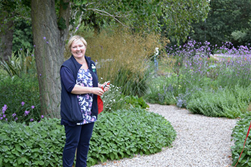 Granddaughter of Beth Chatto opens new garden on campus